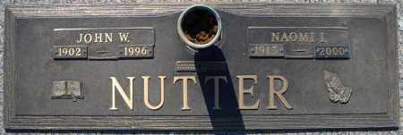 NUTTER, NAOMI I. - Faulkner County, Arkansas | NAOMI I. NUTTER - Arkansas Gravestone Photos