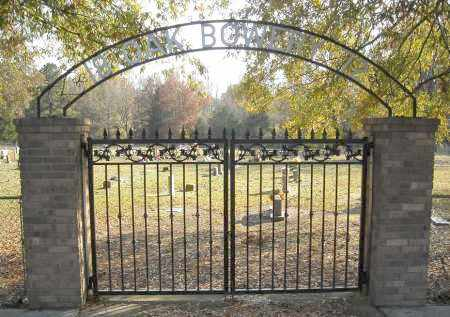 *OAK BOWERY CEMETERY GATE,  - Faulkner County, Arkansas |  *OAK BOWERY CEMETERY GATE - Arkansas Gravestone Photos