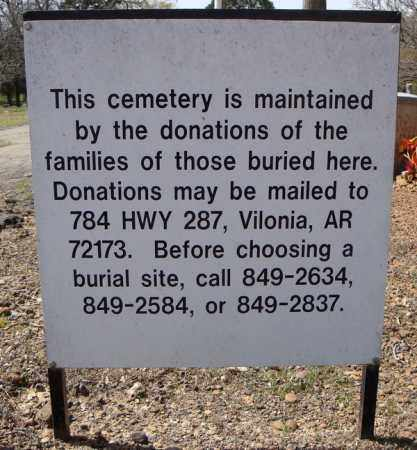 *OAKLAND CONTACTS AND DONATION,  - Faulkner County, Arkansas |  *OAKLAND CONTACTS AND DONATION - Arkansas Gravestone Photos