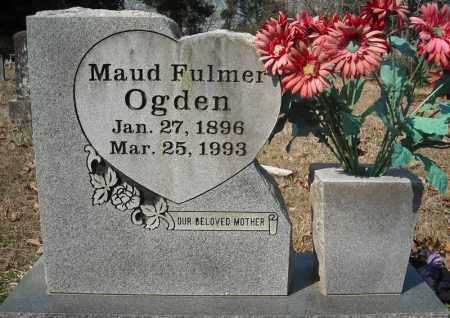 FULMER OGDEN, MAUD - Faulkner County, Arkansas | MAUD FULMER OGDEN - Arkansas Gravestone Photos