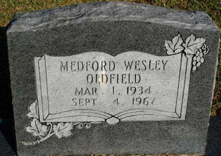 OLDFIELD, MEDFORD WESLEY - Faulkner County, Arkansas | MEDFORD WESLEY OLDFIELD - Arkansas Gravestone Photos