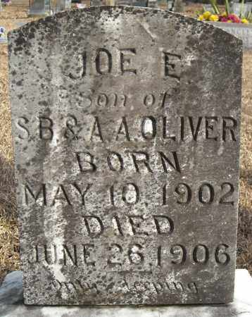 OLIVER, JOE E. - Faulkner County, Arkansas | JOE E. OLIVER - Arkansas Gravestone Photos
