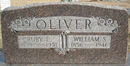 OLIVER, WILLIAM S. - Faulkner County, Arkansas | WILLIAM S. OLIVER - Arkansas Gravestone Photos
