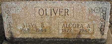 OLIVER, ALCORA A. - Faulkner County, Arkansas | ALCORA A. OLIVER - Arkansas Gravestone Photos