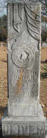 OLIVER, J. MARTIN - Faulkner County, Arkansas | J. MARTIN OLIVER - Arkansas Gravestone Photos