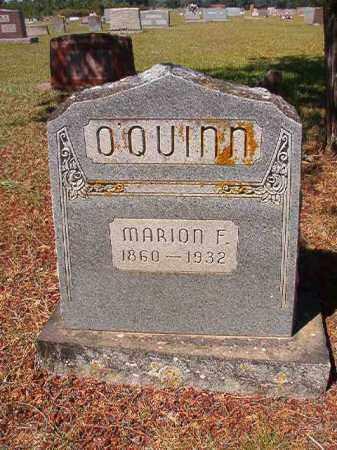 O'QUINN, MARION F. - Faulkner County, Arkansas | MARION F. O'QUINN - Arkansas Gravestone Photos
