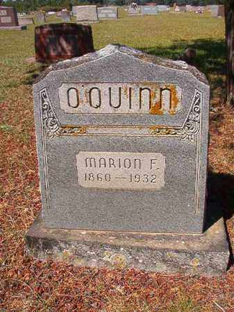 O'QUINN, MARION FRANKLIN - Faulkner County, Arkansas | MARION FRANKLIN O'QUINN - Arkansas Gravestone Photos