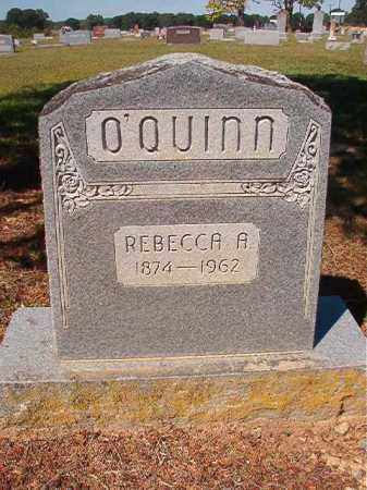 O'QUINN, REBECCA A. - Faulkner County, Arkansas | REBECCA A. O'QUINN - Arkansas Gravestone Photos