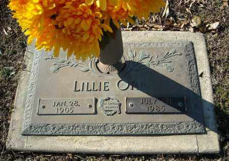 ORR, LILLIE - Faulkner County, Arkansas | LILLIE ORR - Arkansas Gravestone Photos