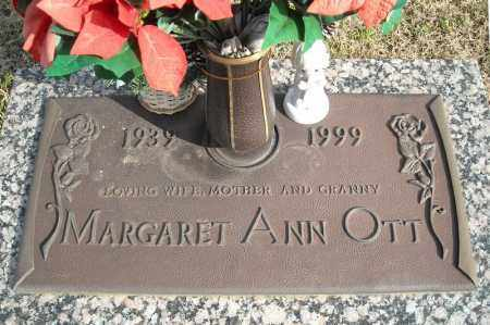 OTT, MARGARET ANN - Faulkner County, Arkansas | MARGARET ANN OTT - Arkansas Gravestone Photos