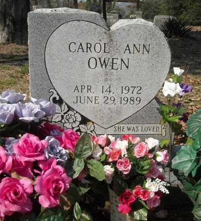 OWEN, CAROL ANN - Faulkner County, Arkansas | CAROL ANN OWEN - Arkansas Gravestone Photos