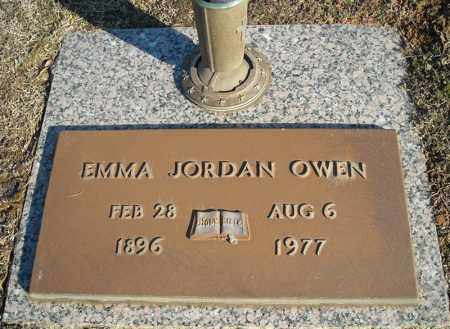 JORDAN OWEN, EMMA - Faulkner County, Arkansas | EMMA JORDAN OWEN - Arkansas Gravestone Photos