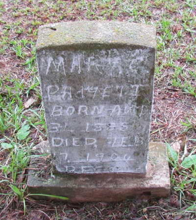 PADGETT, MARY C. - Faulkner County, Arkansas | MARY C. PADGETT - Arkansas Gravestone Photos