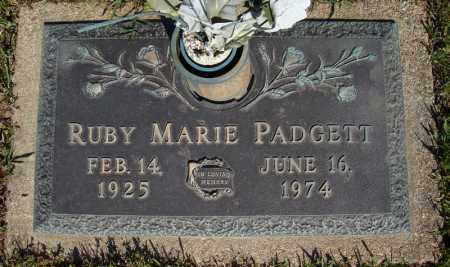 PADGETT, RUBY MARIE - Faulkner County, Arkansas | RUBY MARIE PADGETT - Arkansas Gravestone Photos
