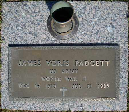 PADGETT (VETERAN WWII), JAMES VORIS - Faulkner County, Arkansas | JAMES VORIS PADGETT (VETERAN WWII) - Arkansas Gravestone Photos