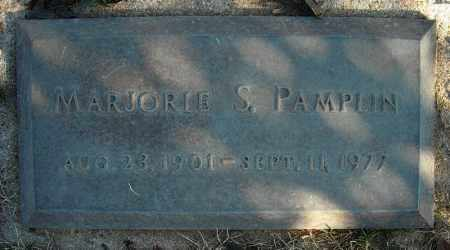PAMPLIN, MARJORIE S. - Faulkner County, Arkansas | MARJORIE S. PAMPLIN - Arkansas Gravestone Photos