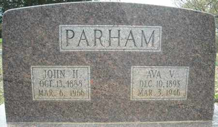 PARHAM, AVA V. - Faulkner County, Arkansas   AVA V. PARHAM - Arkansas Gravestone Photos