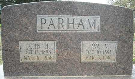 PARHAM, AVA VIANNA - Faulkner County, Arkansas | AVA VIANNA PARHAM - Arkansas Gravestone Photos