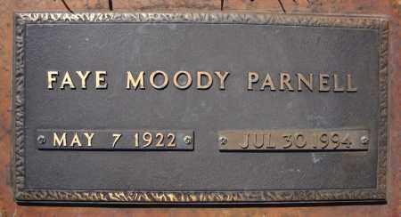 MOODY PARNELL, FAYE - Faulkner County, Arkansas | FAYE MOODY PARNELL - Arkansas Gravestone Photos