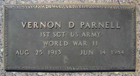 PARNELL (VETERAN WWII), VERNON D - Faulkner County, Arkansas | VERNON D PARNELL (VETERAN WWII) - Arkansas Gravestone Photos
