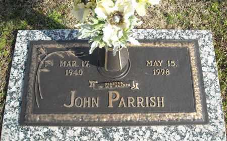 PARRISH, JOHN - Faulkner County, Arkansas | JOHN PARRISH - Arkansas Gravestone Photos