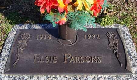 PARSONS, ELSIE - Faulkner County, Arkansas | ELSIE PARSONS - Arkansas Gravestone Photos