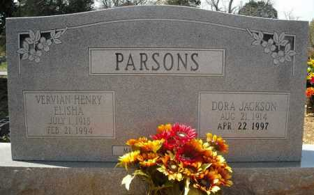 PARSONS, VERVIAN HENRY ELISHA - Faulkner County, Arkansas | VERVIAN HENRY ELISHA PARSONS - Arkansas Gravestone Photos