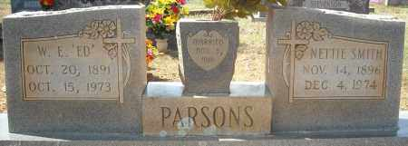 PARSONS, NETTIE - Faulkner County, Arkansas | NETTIE PARSONS - Arkansas Gravestone Photos