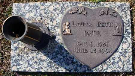 PATE, LAURA BETH - Faulkner County, Arkansas | LAURA BETH PATE - Arkansas Gravestone Photos