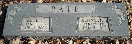 PATE, RUTH I. - Faulkner County, Arkansas | RUTH I. PATE - Arkansas Gravestone Photos