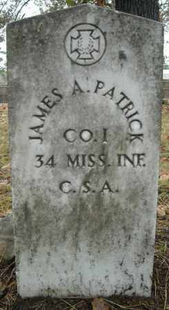 PATRICK (VETERAN CSA), JAMES A. - Faulkner County, Arkansas | JAMES A. PATRICK (VETERAN CSA) - Arkansas Gravestone Photos
