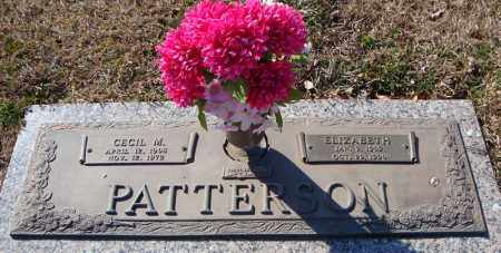 PATTERSON, CECIL M. - Faulkner County, Arkansas | CECIL M. PATTERSON - Arkansas Gravestone Photos