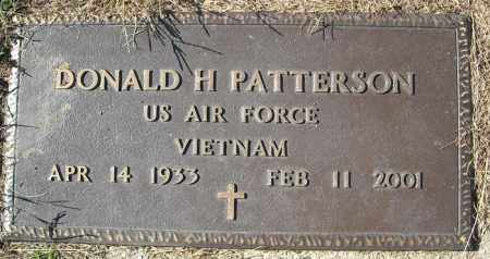 PATTERSON (VETERAN VIET), DONALD H - Faulkner County, Arkansas | DONALD H PATTERSON (VETERAN VIET) - Arkansas Gravestone Photos