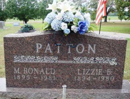 PATTON, LIZZIE B. - Faulkner County, Arkansas | LIZZIE B. PATTON - Arkansas Gravestone Photos