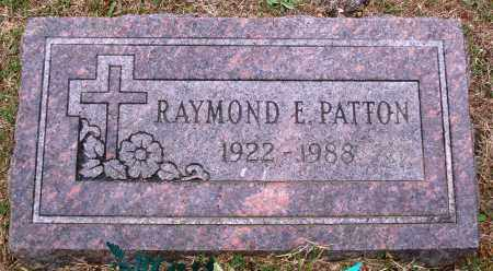 PATTON, RAYMOND E. - Faulkner County, Arkansas | RAYMOND E. PATTON - Arkansas Gravestone Photos