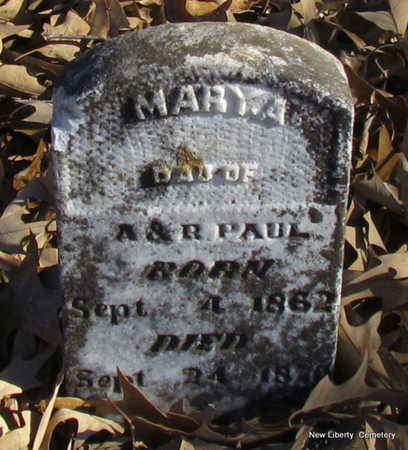 PAUL, MARY A. - Faulkner County, Arkansas | MARY A. PAUL - Arkansas Gravestone Photos