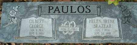 PAULOS, GILBERT GEORGE - Faulkner County, Arkansas | GILBERT GEORGE PAULOS - Arkansas Gravestone Photos