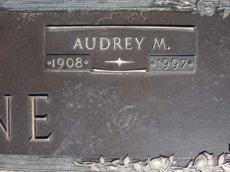 PAYNE, AUDREY M. (CLOSE UP) - Faulkner County, Arkansas | AUDREY M. (CLOSE UP) PAYNE - Arkansas Gravestone Photos