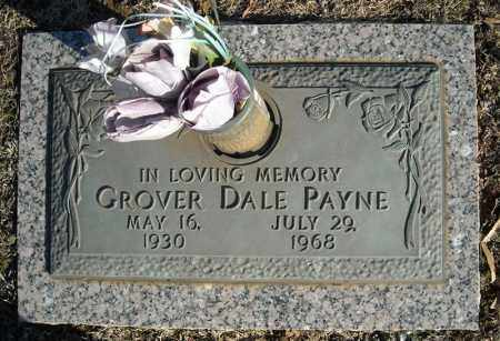 PAYNE, GROVER DALE - Faulkner County, Arkansas | GROVER DALE PAYNE - Arkansas Gravestone Photos