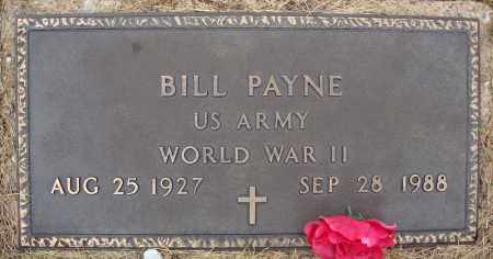 PAYNE (VETERAN WWII), BILL - Faulkner County, Arkansas | BILL PAYNE (VETERAN WWII) - Arkansas Gravestone Photos