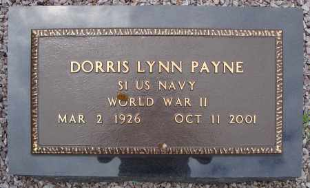 PAYNE (VETERAN WWII), DORRIS LYNN - Faulkner County, Arkansas | DORRIS LYNN PAYNE (VETERAN WWII) - Arkansas Gravestone Photos