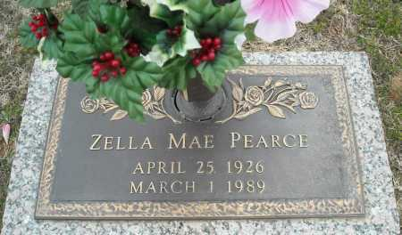 PEARCE, ZELLA MAE - Faulkner County, Arkansas | ZELLA MAE PEARCE - Arkansas Gravestone Photos