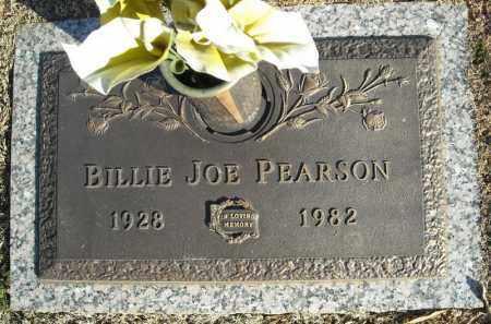 PEARSON, BILLIE JOE - Faulkner County, Arkansas | BILLIE JOE PEARSON - Arkansas Gravestone Photos