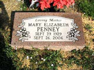 PENNEY, MARY ELIZABETH - Faulkner County, Arkansas | MARY ELIZABETH PENNEY - Arkansas Gravestone Photos
