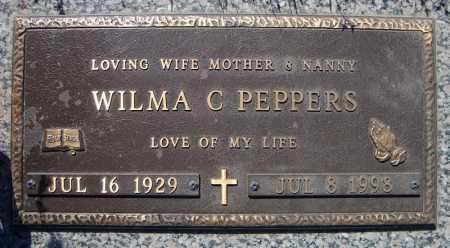 PEPPERS, WILMA C. - Faulkner County, Arkansas | WILMA C. PEPPERS - Arkansas Gravestone Photos