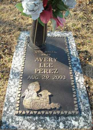 PEREZ, AVERY LEE - Faulkner County, Arkansas | AVERY LEE PEREZ - Arkansas Gravestone Photos