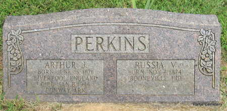 PERKINS, RUSSIA V, - Faulkner County, Arkansas | RUSSIA V, PERKINS - Arkansas Gravestone Photos