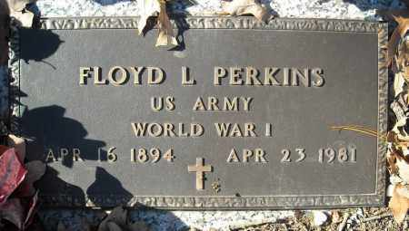PERKINS (VETERAN WWI), FLOYD L. - Faulkner County, Arkansas | FLOYD L. PERKINS (VETERAN WWI) - Arkansas Gravestone Photos