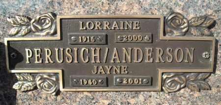 ANDERSON, JAYNE - Faulkner County, Arkansas | JAYNE ANDERSON - Arkansas Gravestone Photos
