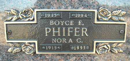PHIFER, NORA G. - Faulkner County, Arkansas | NORA G. PHIFER - Arkansas Gravestone Photos